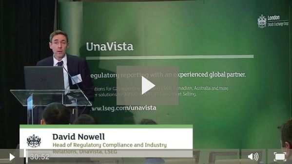 David Nowell talks about how MiFIR will affect US firms