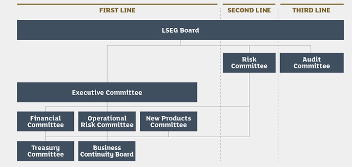 LSEG Risk Goverance Structure