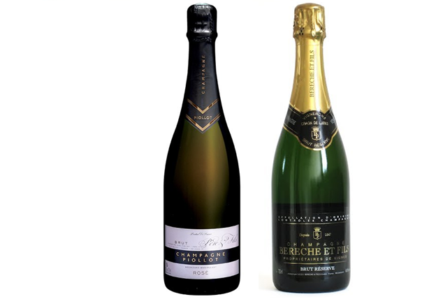 Champagne from specialist wineries in the Champagne region