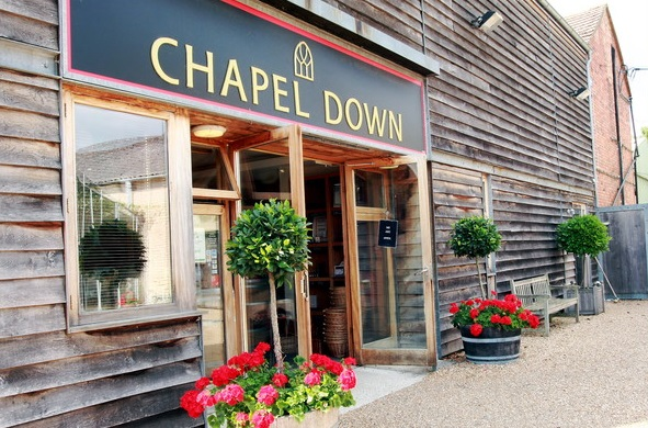Chapel Down Winery Vineyard
