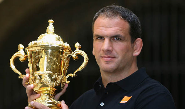 Winning World Cup captain Martin Johnson