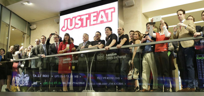 JUST EAT opens trading on London Stock Exchange
