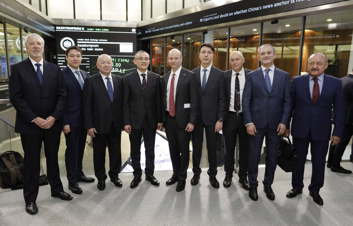 London Stock Exchange welcomes Kazatomprom to the main