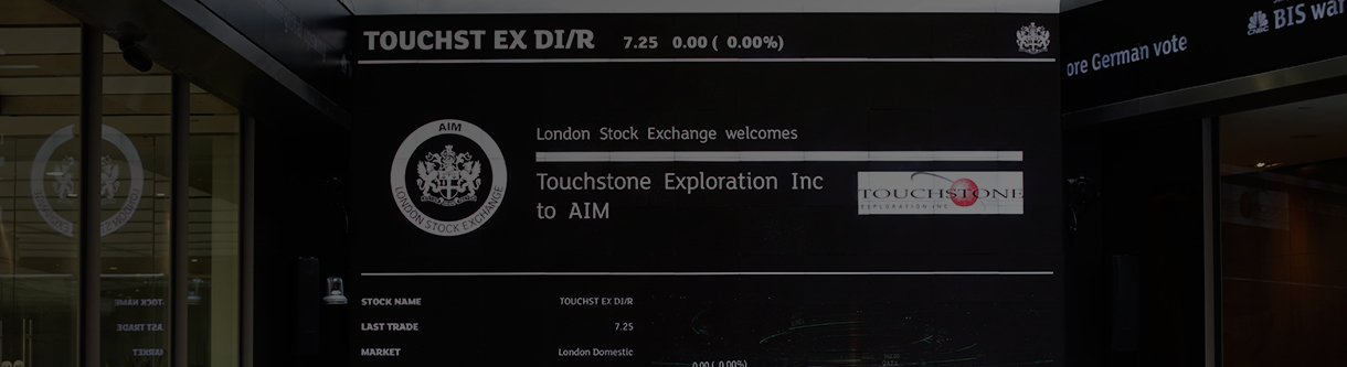 Touchstone Exploration Inc