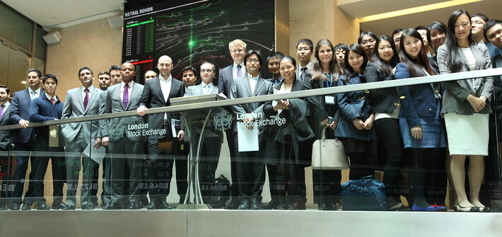 Visits to London Stock Exchange