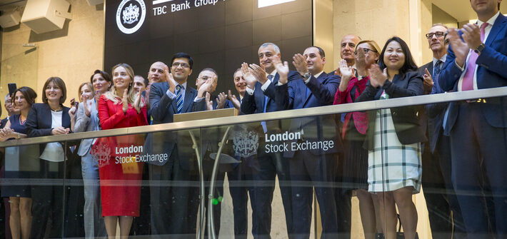 London Stock Exchange welcomes TBC Bank Group PLC | London Stock