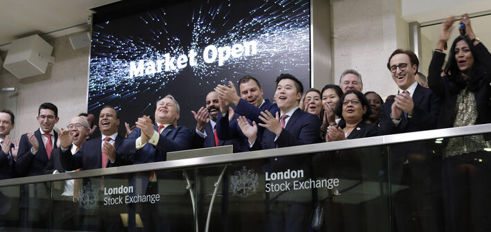 London Stock Exchange welcomes J P  Morgan Asset Management