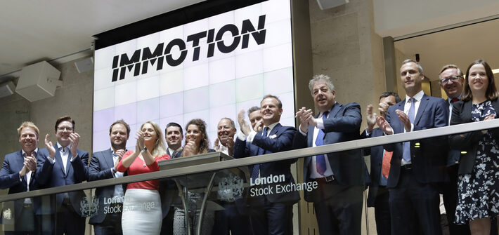 London Stock Exchange Welcomes Immotion Group To Aim London Stock